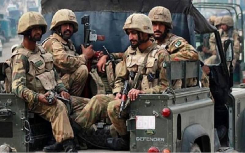 بلوچستان کے مختلف علاقوں میں کارروائی، 4 دہشتگرد گرفتار، 1 ہلاک