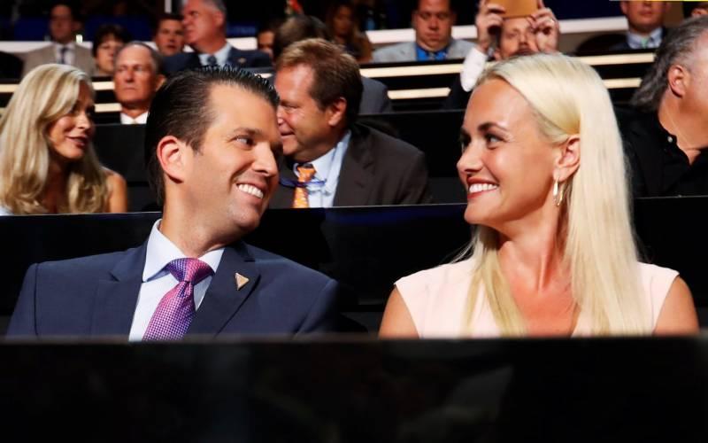 صدر ٹرمپ کی بہو نے شوہر سے علیحدگی کیلئے عدالت سے رجوع کر لیا