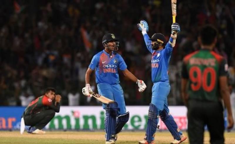 بھارت کی سنسنی خیز مقابلے کے بعد بنگلہ دیش کو 4 وکٹوں سے شکست