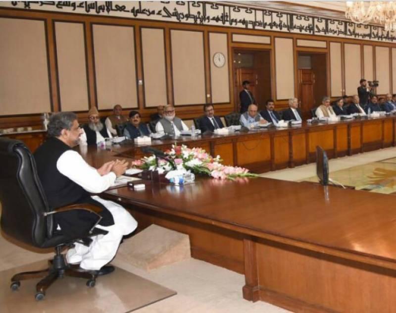 وزیراعظم کی زیر صدارت وفاقی کابینہ کا اجلاس ، اہم معاہدوں کی منظوری