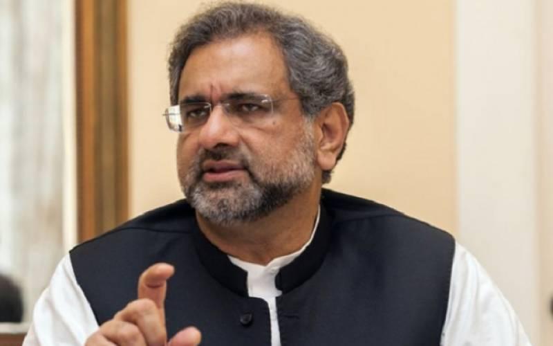 زرداری اور عمران ٹی وی پر آکر کہہ دیں ہم نے ووٹ نہیں خریدے: شاہد خاقان عباسی