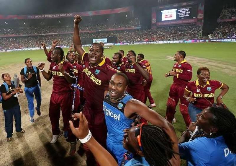 ویسٹ انڈین ٹیم پاکستان پہنچ گئی ، پہلا ٹی ٹوئنٹی کل نیشنل سٹیڈیم میں کھیلا جائیگا