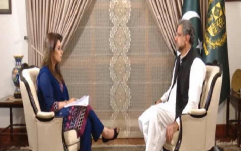 ضرورت پڑی تو چیف جسٹس سے مزید ملاقاتیں بھی ہوسکتی ہیں: شاہد خاقان عباسی