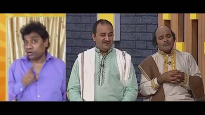 بھارتی کامیڈی اداکار جونی لیور اظہر رنگیلا اور ہنی البیلا کے مداح نکلے