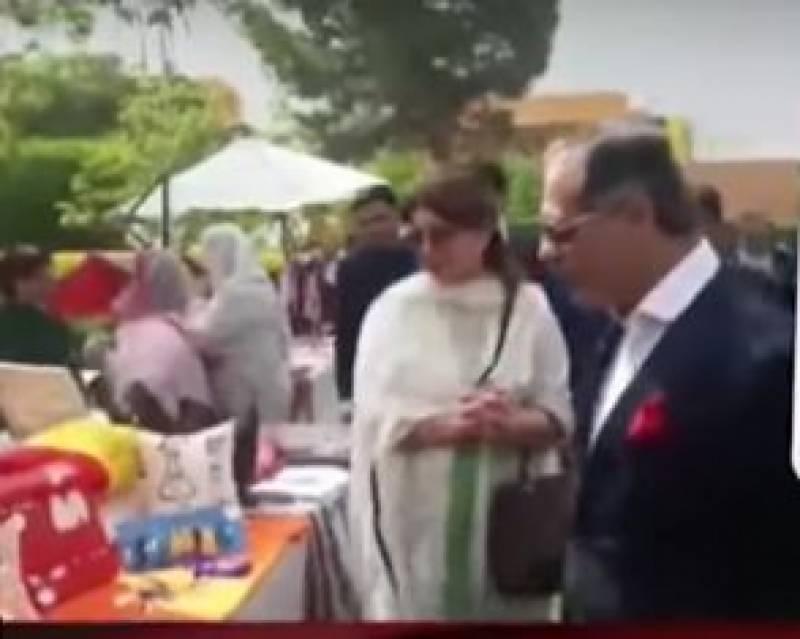 چیف جسٹس پاکستان کا اہلیہ کے ساتھ کوئٹہ میں بہار فیسٹیول کا دورہ