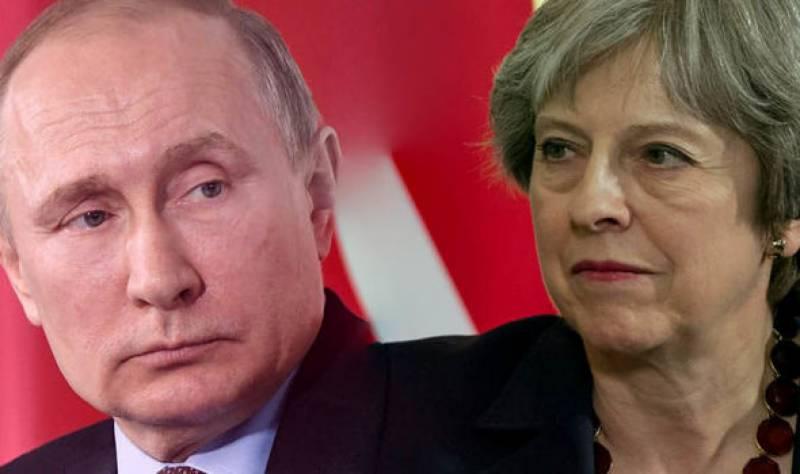 روس ، برطانیہ کے درمیان لفظی جنگ عروج پر پہنچ گئی