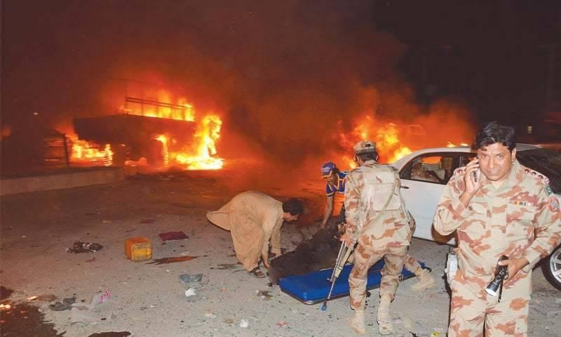 کوئٹہ میں دھماکہ ، پانچ افراد زخمی ، سرچ آپریشن شروع کر دیا گیا