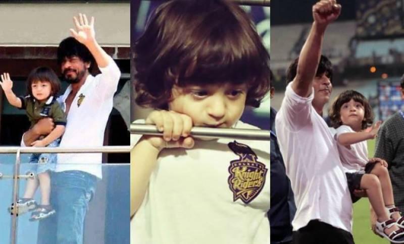 شاہ رخ خان اپنے چھوٹے بیٹے کو ہاکی پلیئر بنانے کے خواہش مند