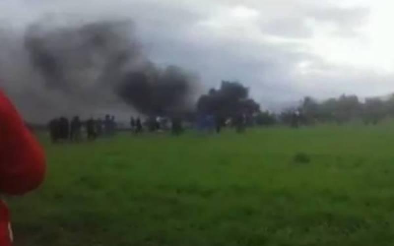 الجیریا : مسافر طیارہ حادثہ میں 200 افراد جاں بحق