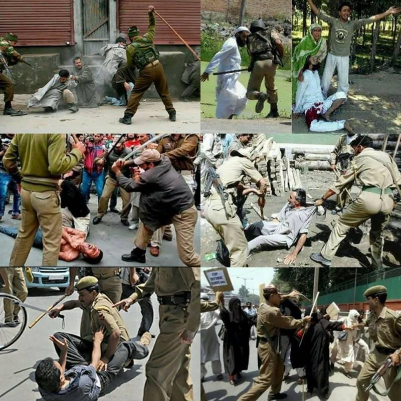 قابض بھارتی فوج نے کلگام میں نہتے مظاہرین پر فائر کھول دیا, 4 شہید , 50 زخمی