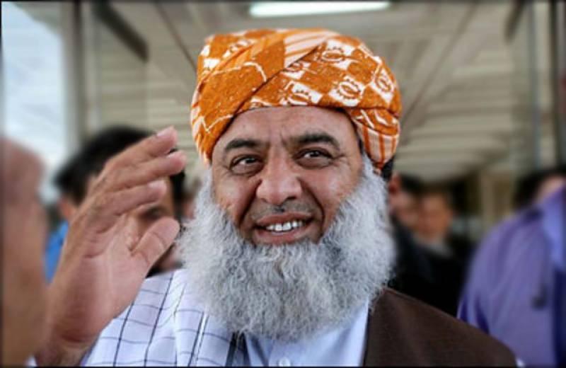 قوم طاقت کے بغیر اسلامی نظام کا نفاذ چاہتی ہے ، مولانا فضل الرحمن