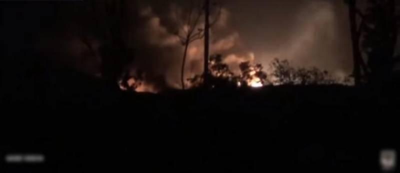 امریکہ ،فرانس اور برطانیہ کے شام میں مشترکہ حملے کی ویڈیو سامنے آگئی
