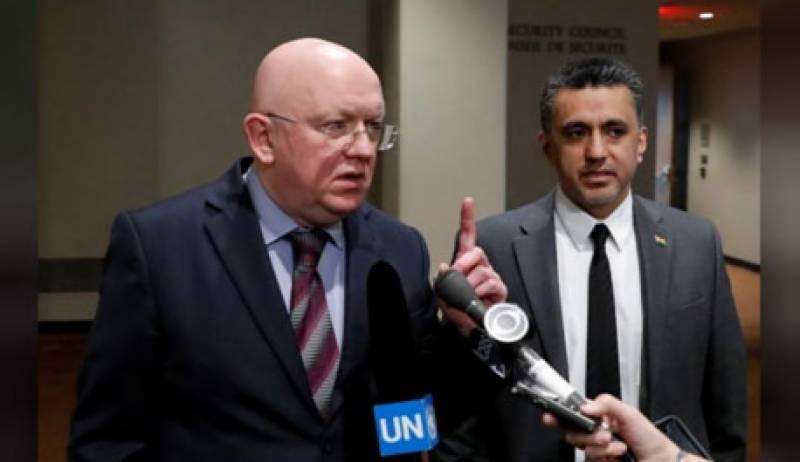 شام پر حملہ، امریکا کو ردعمل کا سامنا کرنا پڑیگا، روس