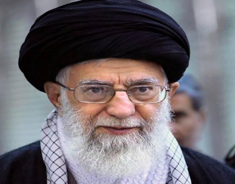 امریکا، برطانیہ اور فرانس نے شام پر حملہ کر کے بہت بڑا جرم کیا: آیت اللہ خامنہ ای
