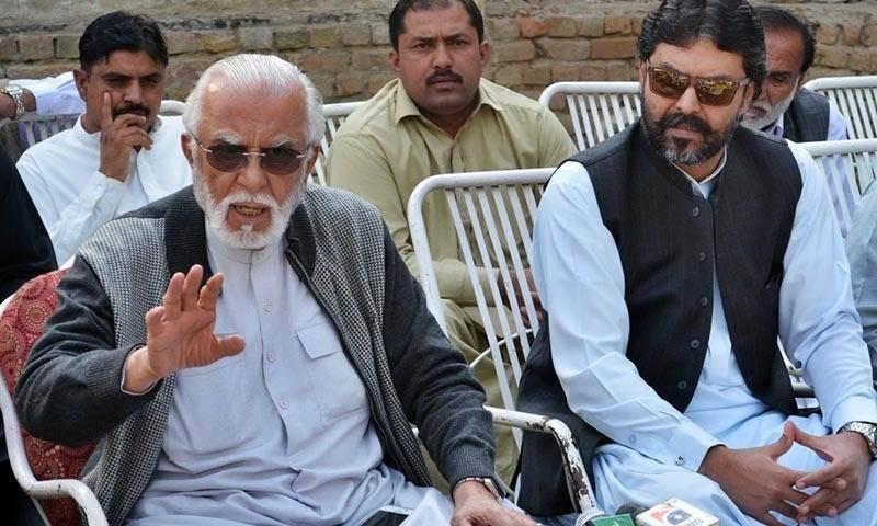 ذوالفقار کھوسہ اور ان کے بیٹے دوست محمد کا ن لیگ چھوڑنے کا فیصلہ