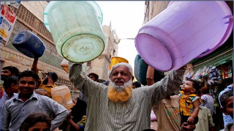 کراچی میں پانی کے ستائے عوام کیلئے بڑی خوشخبری