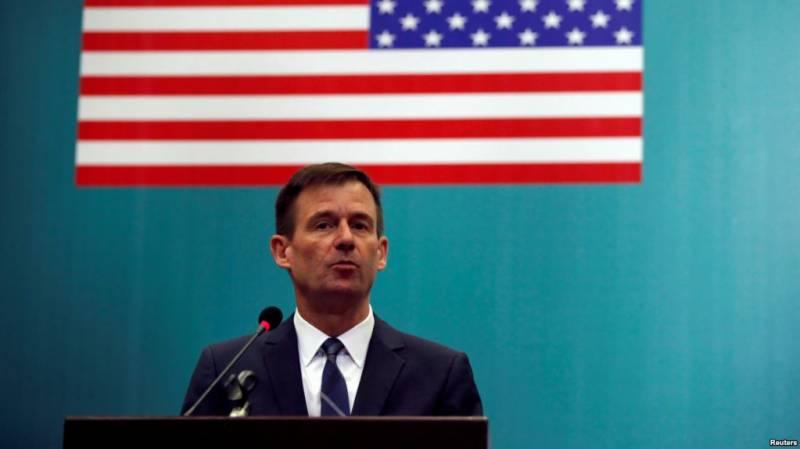 ڈاکٹر احسن اقبال پر حملہ،امریکی سفیر ڈیوڈ ہیل کی مذمت