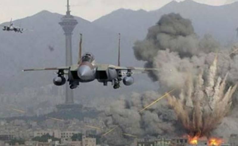 داعش و طالبان کے ٹھکانوں پر فضائی بمباری، 42 ہلاک