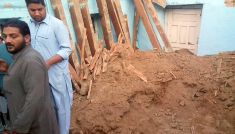 کوٹلی میں مکان کی چھت گرنے سے 2 بچیوں سمیت 3 افراد جاں بحق