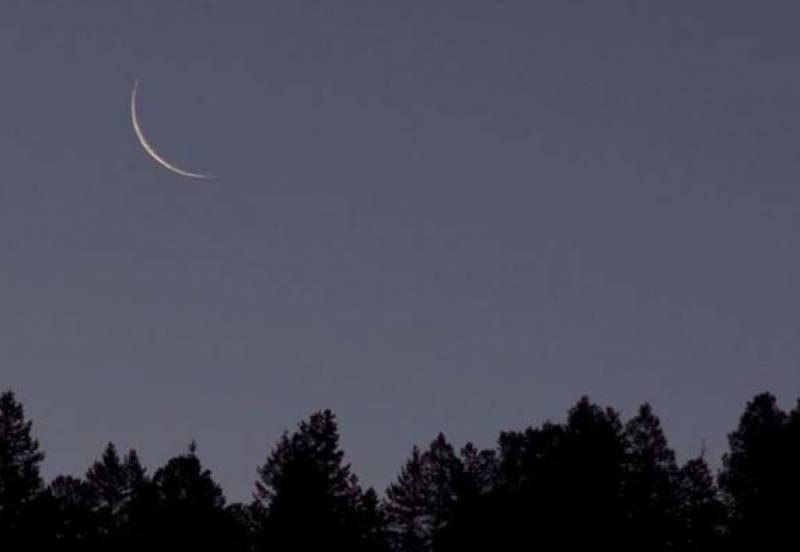 رمضان المبارک کا چاند نظر آگیا