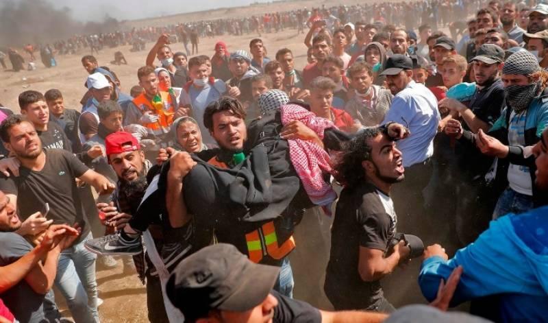 آزادی کی منزل پر گامزن، فلسطینی ڈٹ گئے