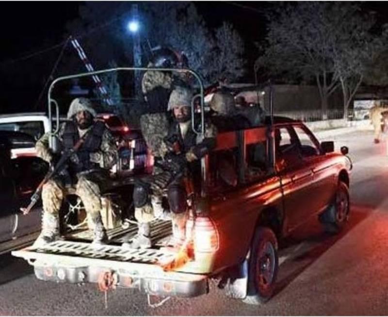 سیکیورٹی فورسز نے ایف سی سینٹر پر حملہ ناکام بنا دیا: آئی ایس پی آر