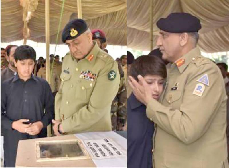 کرنل سہیل عابد مکمل اعزاز کے ساتھ سپرد خاک، نماز جنازہ میں آرمی چیف کی شرکت