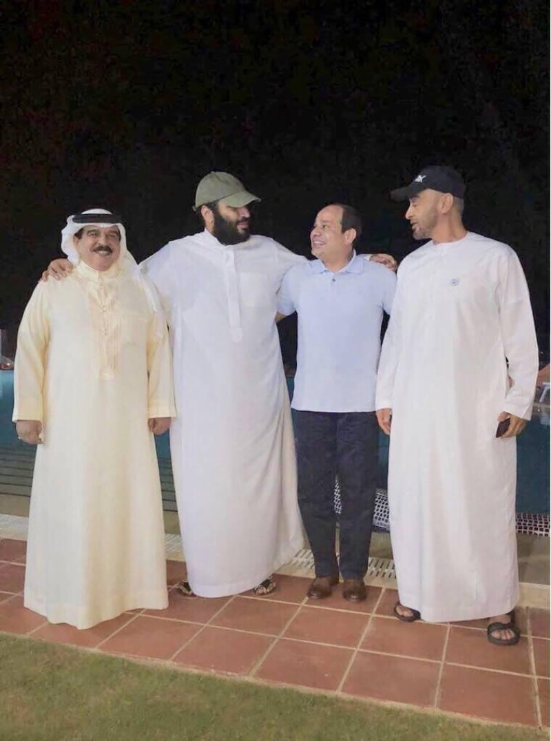 افواہیں دم توڑ گئیں،محمد بن سلمان خیریت سے ہیں:سعودی پریس ایجنسی نے نئی تصویر جاری کردی