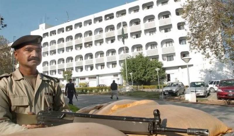 ایل او سی کی خلاف ورزی،بھارتی ہائی کمشنر کی دفتر خارجہ طلبی