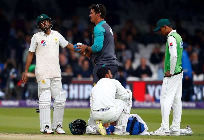لارڈز ٹیسٹ:پاکستان کو پہلی اننگز میں166 رنز کی برتری حاصل،بابر اعظم انجرڈ ہوکر سیریز سے باہر