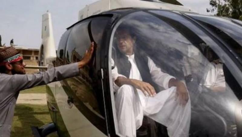 ہیلی کاپٹر خراب ہونے کی وجہ سے عمران خان کا دورہ مردان منسوخ