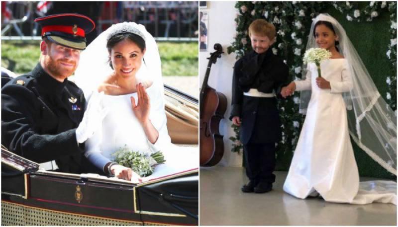 بچوں کی شاہی شادی کے سوشل میڈیا پر چرچے