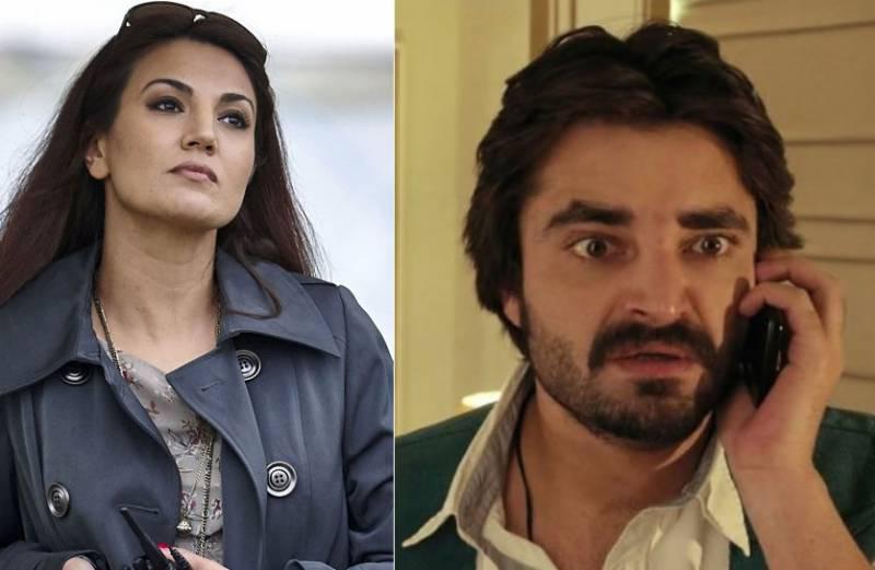 ریحام خان نے معروف اداکار حمزہ علی عباسی پر دھمکیاں دینے کا الزام لگا دیا