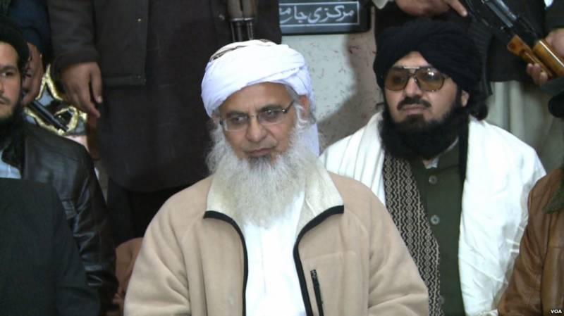 پابندی کے باوجود مولانا عبدالعزیز کا لال مسجد میں خطبہ