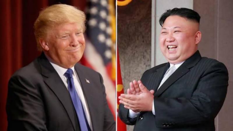ٹرمپ کی شمالی کوریا کے رہنما کم جونگ اُن سے طے شدہ ملاقات 12 جون کو سنگاپور میں ہوگی
