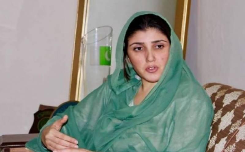 عائشہ گلالئی کا عمران خان کے خلاف الیکشن لڑنے کا اعلان