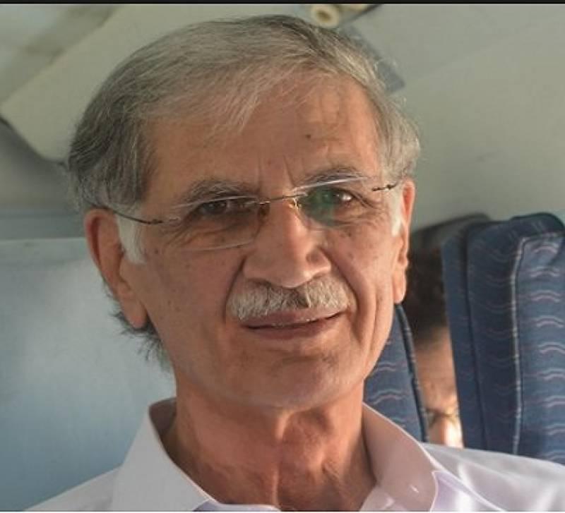 الیکشن کمیشن نگران وزیراعلیٰ سے متعلق جو بھی فیصلہ کرے گا قبول کرینگے: پرویز خٹک