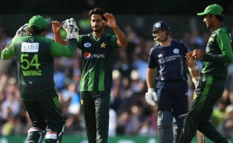 پاکستان نے اسکاٹ لینڈ کے خلاف ٹی ٹوئنٹی سیریز دو صفر سے جیت لی