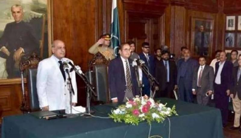 پنجاب کی نگران کابینہ میں توسیع، 4 وزرا نے حلف اٹھالیا