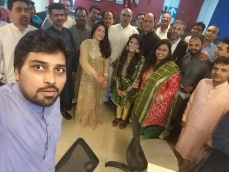 چیئر مین نئی بات میڈیا نیٹورک پروفیسر ڈاکٹر چوہدری عبدالرحمٰن نے نیوٹی وی ٹیم کے ساتھ عید کے پر مسرت لمحات گزارے