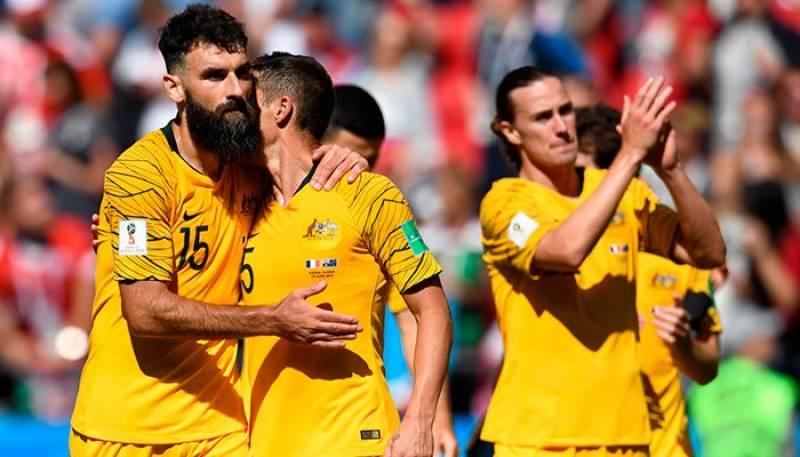 سخت مزاحمت کے باوجود آسٹریلیا کی فرانس کے ہاتھوں 1-2 سے شکست