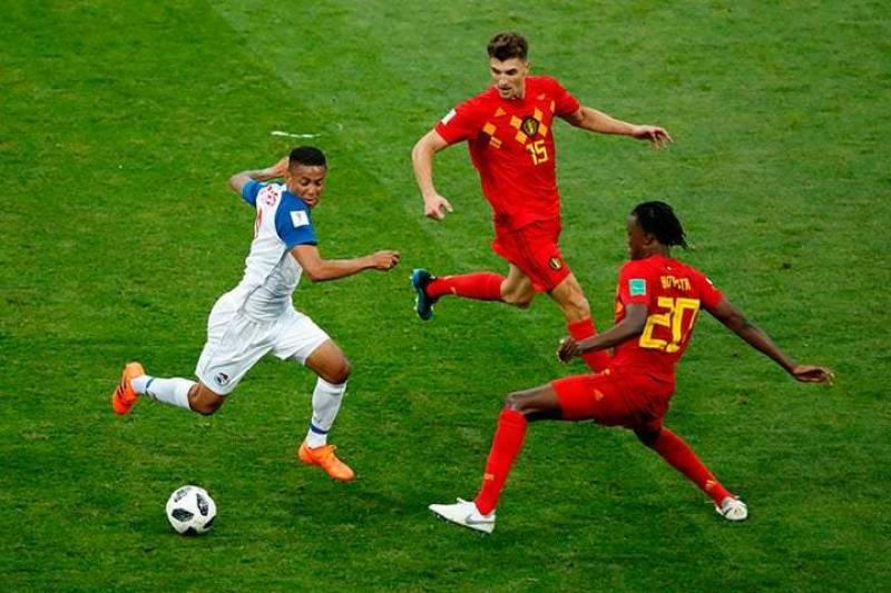 فٹ بال ورلڈکپ 2018 کے مقابلوں میں سوئیڈن، بیلجیم، انگلینڈ کامیاب