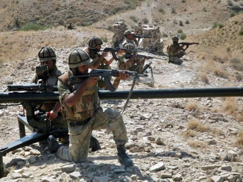 پاک فوج کا جنوبی وزیرستان میں آپریشن، 6 دہشت گرد مارے گئے