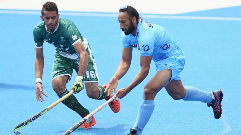 ہاکی چیمپئنز ٹرافی میں بھارت نے پاکستان کو عبرتناک شکست دیدی