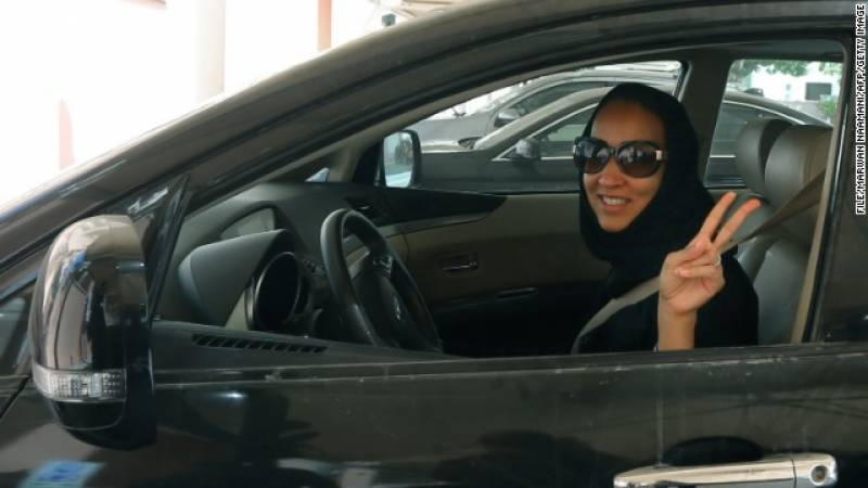 سعودی عرب میں خواتین کی ڈرائیونگ پر عائد پابندی ختم
