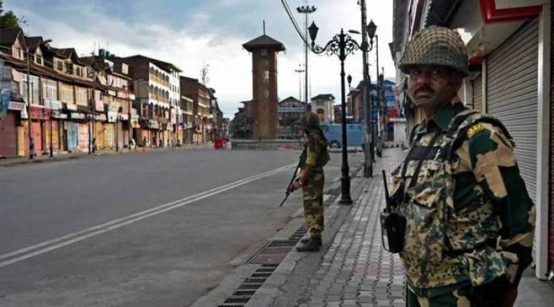 مقبوضہ کشمیر میں حریت قیادت کی کال پر ہڑتال کی جا رہی ہے