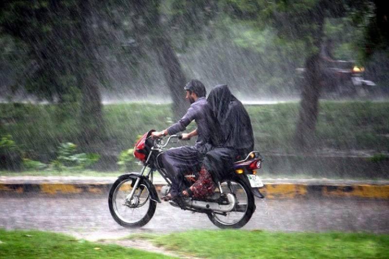 لاہور اور گردو نواح میں وقفے وقفے سے بارش جاری