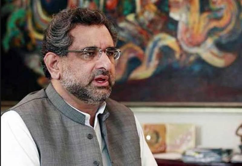 شاہد خاقان عباسی نے اپیلٹ ٹربیونل کا فیصلہ چیلنج کرنے کا اعلان کردیا