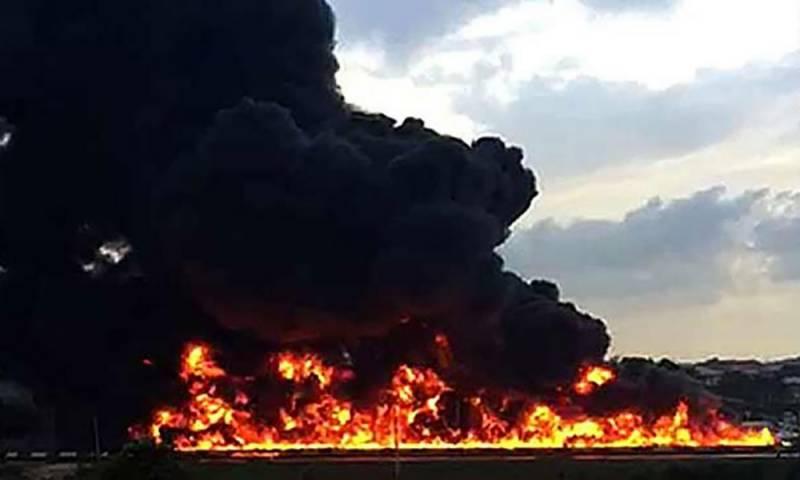 نائجیریا، آئل ٹینکر میں دھماکا، 9 افراد ہلاک