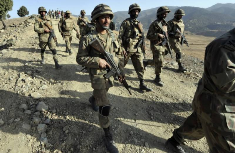 ڈیرہ بگٹی میں سیکیورٹی فورسز کا آپریشن، 20 کلو دھماکا خیز مواد اور گولہ بارود برآمد